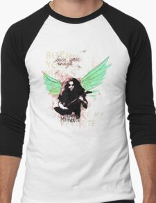 Burn Your Wings Men's Baseball ¾ T-Shirt