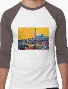 Cobh IV, Cork, Ireland Men's Baseball ¾ T-Shirt