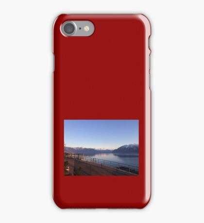 Swiss Alpes View iPhone Case/Skin