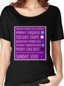 Daily Forecast - with colour! Women's Relaxed Fit T-Shirt