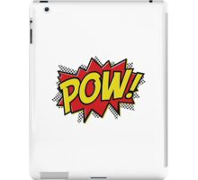 POW Graphic iPad Case/Skin