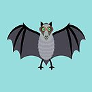 BAT WITH IMPROVED VISION by Jean Gregory  Evans
