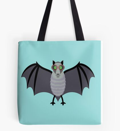 BAT WITH IMPROVED VISION Tote Bag