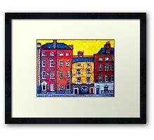 5 Houses, Dublin Framed Print