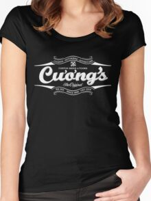 Cuong's Custom Bikes & Tours Women's Fitted Scoop T-Shirt