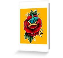 Ocarina Flower Greeting Card