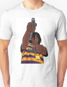 Chief Keef Toting Gun Unisex T-Shirt