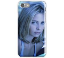 Buffy Blue iPhone Case/Skin