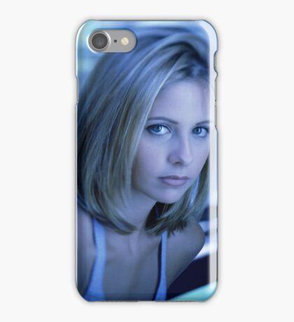 Buffy Blue iPhone Case/Skin