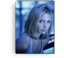 Buffy Blue Canvas Print
