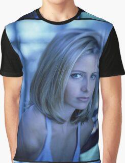 Buffy Blue Graphic T-Shirt