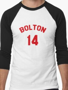 High School Musical: Bolton Jersey Red Men's Baseball ¾ T-Shirt