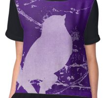 A Song in Purple Chiffon Top
