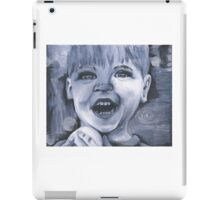 A glimpse of happiness iPad Case/Skin