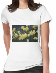 Happy jonquils Womens Fitted T-Shirt