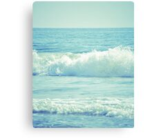 The Waves Canvas Print
