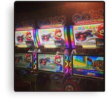 Mario Kart Arcade Driving Game  Canvas Print