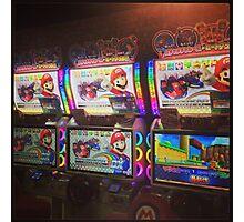 Mario Kart Arcade Driving Game  Photographic Print