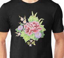 Kimono Bouquet Chintz Unisex T-Shirt