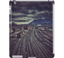 Above the Tracks iPad Case/Skin