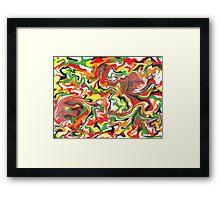 Rhythm - Abstract Framed Print