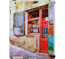 The Wine Shop iPad Case/Skin