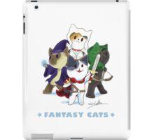 Fantasy Cats iPad Case/Skin