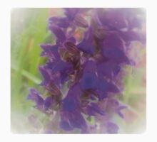 Shadow Clan Enhanced Purple Flowers Kids Tee