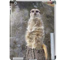 Meerkat Manners iPad Case/Skin