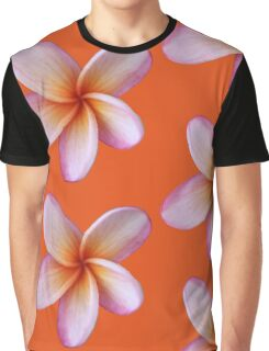 Pink Frangipani Graphic T-Shirt
