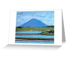 Clew Bay, Nephin - Mayo Greeting Card