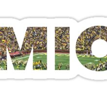 Michigan Stadium Sticker