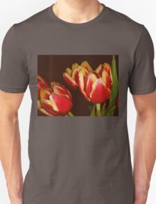 LOVELY RED AND YELLOW TULIPS T-Shirt