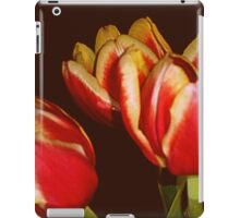 LOVELY RED AND YELLOW TULIPS iPad Case/Skin