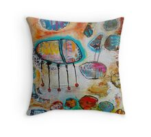 Restful Places Throw Pillow
