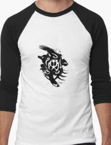 :: Tribal Fur :: Men's Baseball ¾ T-Shirt