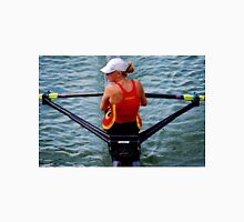 Lady Rower Womens Fitted T-Shirt