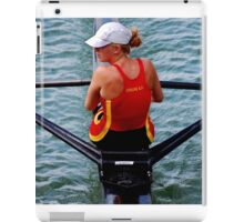 Lady Rower iPad Case/Skin