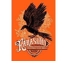 Haikyuu Team Types: Karasuno Orange Photographic Print