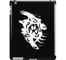 :: Tribal Fur White :: iPad Case/Skin