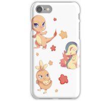 Fire starters pattern iPhone Case/Skin
