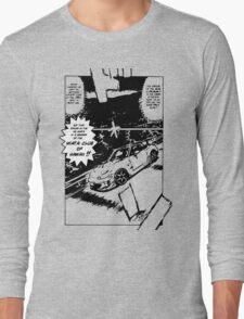 Miata Club of Hawaii Initial D NB Drift Print Long Sleeve T-Shirt