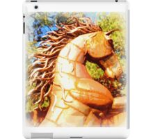 mustang stallion iPad Case/Skin