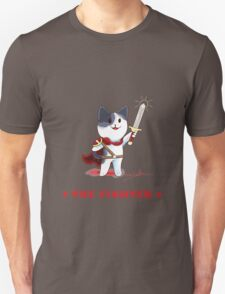 Fantasy Cat - The Fighter T-Shirt
