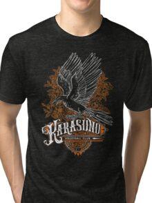 Haikyuu Team Types: Karasuno Black Tri-blend T-Shirt