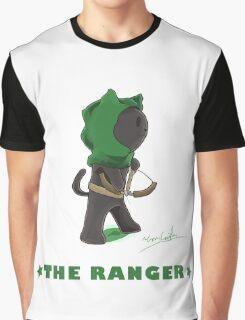 Fantasy Cat - The Ranger Graphic T-Shirt