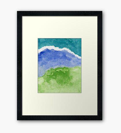 Saltwater Framed Print