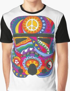 Psychedelic Mask Graphic T-Shirt