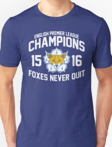 Foxes Champions 2015/2016 T-Shirt
