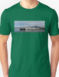 Vesuvius and the Boats Unisex T-Shirt